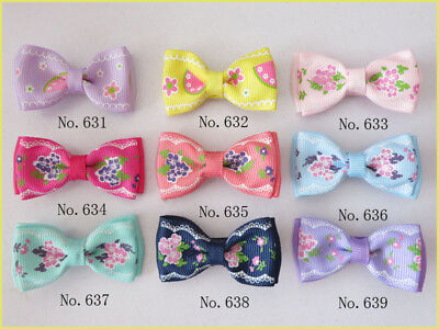 "300 BLESSING Good Girl Boutique 2"" Double Bowknot Hair Bow Clip Accessories"