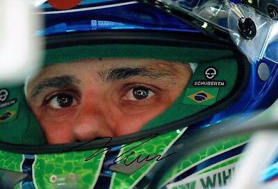 Felipe MASSA Signed Autograph Portrait Photo Williams Autograph AFTAL COA