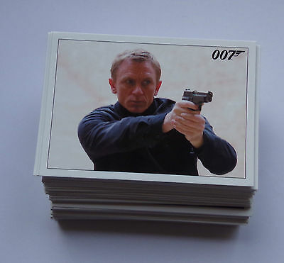James Bond Archives 2015  base set of trading cards