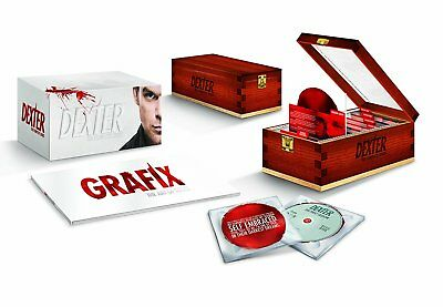 Dexter: The Complete Series (Blu-ray Disc, 2013, 25-Disc Set) *Brand New Sealed*