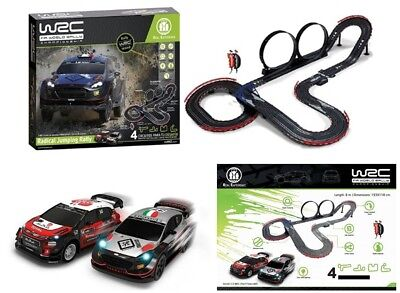 Offical FIA WRC World Rally RADICAL JUMP 1/43 Scalextric-Style Slot Racing Set