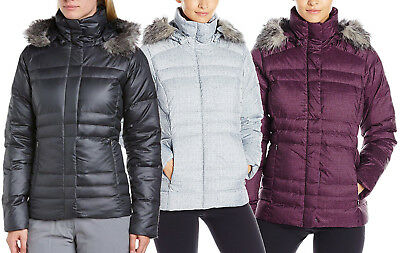 NEW COLUMBIA MERCURY MAVEN IV DOWN JACKET Black/Purple/Grey Women's S-M-L-XL