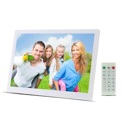 """15.6"""" HD TFT-LED Digital Photo Picture Frame Movie Player+Remote Control V2O0"""