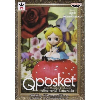 Banpresto Q Posket Disney Characters Petit V 5 Figure Alice in Wonderland Alice