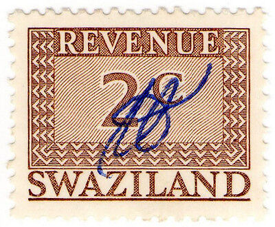(I.B) Swaziland Revenue : Duty Stamp 2c