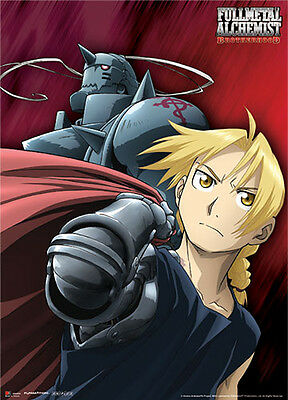 Fullmetal Alchemist: The Elric Brothers Fabric Poster (Wall Art) *NEW*