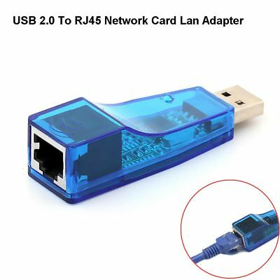 Ethernet USB 2.0 To Lan RJ45 Network Card Adapter 10/100 Mbps For PC Laptop