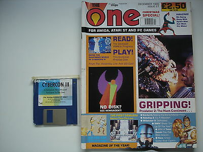 THE ONE MAGAZINE  -  Amiga - December 1990 -  WITH COVER DISC