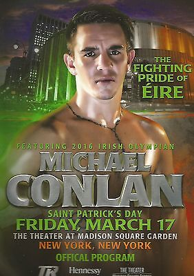** Only One** 2017 Ireland's Michael Conlan Pro Debut Programme From America