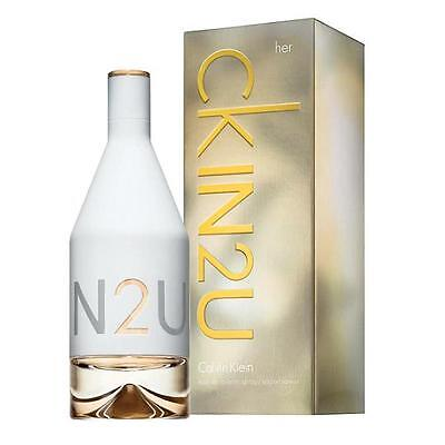 CK IN2U HER de CALVIN KLEIN - Colonia / Perfume EDT 150 mL - Mujer / Woman
