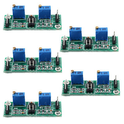 5pcs AD8572 DC Signal Amplifier Two-stages Operational Amplifier 20x100 Gain