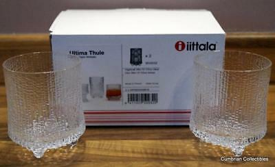 2 Exquisite 20cl Tumblers by Tapio Wirkkala for iittala - Perfect & Boxed