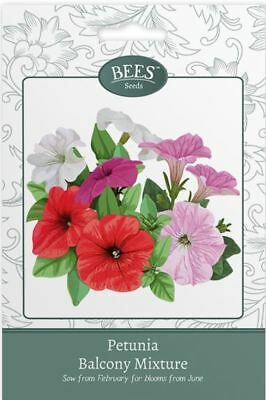 Bees Flower Seeds  - Petunia Balcony Mixture Seeds