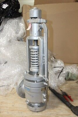 """New Anderson Greenwood Crosby 2.5"""" Hl-36 Style 25 Pressure Reliefe Valve"""