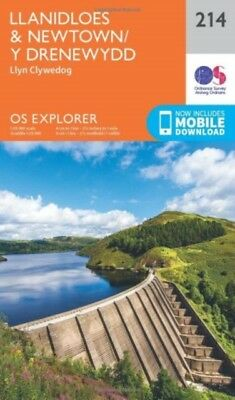 OS Explorer Map (214) Llanidloes and Newtown - Y Drenewydd (Map),...