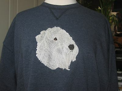New Soft Coated Wheaton Terrier Embroidered Sweatshirt Add Name For Free