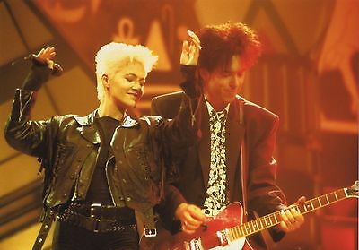 Roxette Photo 1989 Unreleased Unique Image Huge 12 Inches London Concert Rarity