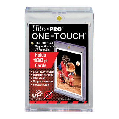5 - ULTRA PRO 180PT UV One Touch Magnetic Holder for THICK CARDS or Jersey card
