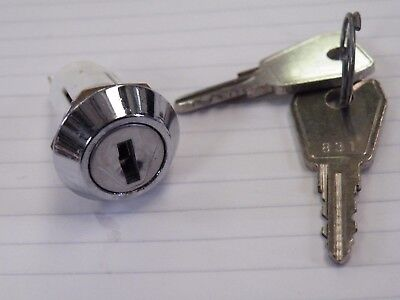 Key Operated Rotary Switch SPDT on/off key out in both pos. Random key Nos 757