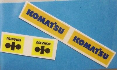 Komat'su  Sticker (B)