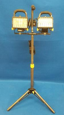 Chicago Electric 40123 Dual Head Work Light W/ Stand -Sl (Pps005489)