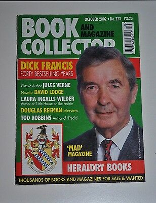 Book Collector # 223 Oct 2002 - Dick Francis, Jules Verne, David Lodge, Heraldry
