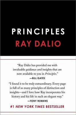 NEW Principles By Ray Dalio Hardcover Free Shipping