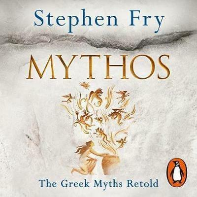 NEW Mythos By Stephen Fry Audio CD Free Shipping