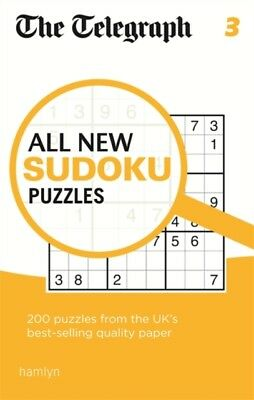 The Telegraph All New Sudoku Puzzles 3 (The Telegraph Puzzle Book. 9780600630197