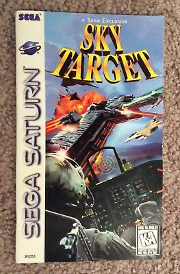 Please Read Only Instruction Manual for Sky Target (Sega Saturn, 1997)