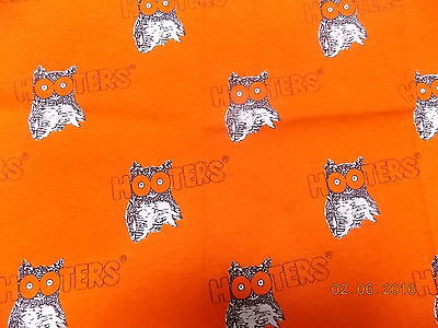 "Hooters Fabric Fat Quarter 22"" x 22"""