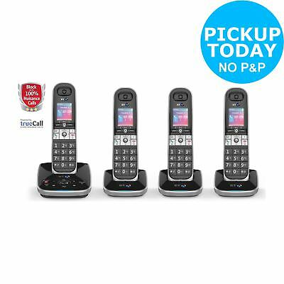 BT 8610 Cordless Telephone with Answer Machine - Quad