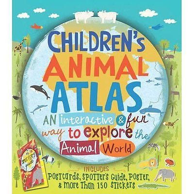 Children's Animal Atlas by Barbara Taylor CHILDRENS ACTIVITY LEARNING STICKERS
