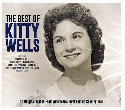 Kitty Wells - The Best Of - 40 Original Tracks (New Sealed 2Cd)