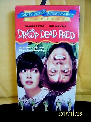 VHS  preowned  DROP DEAD FRED   FROM 1991  EUC  1996