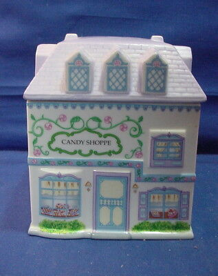 1993 Lenox Village CANDY SHOPPE Canister - Preowned w/No Box