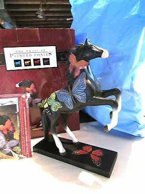 Trail of Painted Ponies Butterfly Horse BLACK BEAUTY 1E/1510 NIB w Story Card!