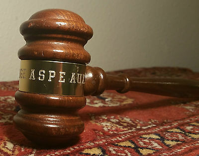 Alaska pipeline Society of Professional Engineers vtg anchorage oil gas gavel