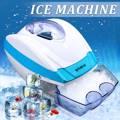 Electric Automatic Ice Shaver Slicer Crusher Snow Cone Machine Home DIY Dessert