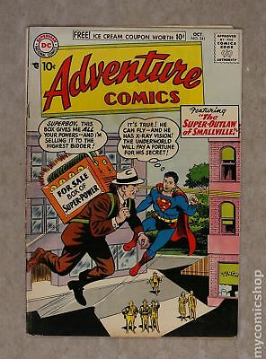 Adventure Comics (1st Series) #241 1957 VG 4.0