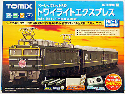 Tomix 90172 Electric Locomotive Type EF81 Twilight Express N Scale Sst (N scale)