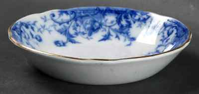 Burgess & Leigh WINDFLOWER (FLOW BLUE) Fruit Dessert (Sauce) Bowl 1672837
