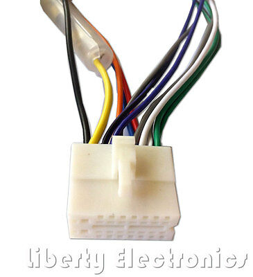 clarion wire wiring harness car stereo adapter cable 7 99 picclick rh picclick com Clarion Radio Wiring Diagram Clarion Radio Wiring Diagram