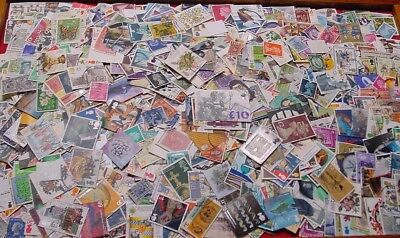 Great Britain, wonderful selection of 1500 DIFFERENT used stamps.