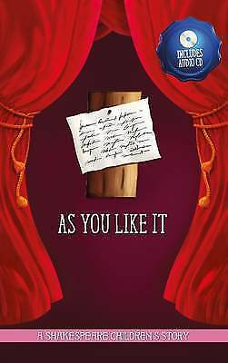 As You Like it (20 Children's Shakespeare Stories Hardback + Audion CD) by Macaw