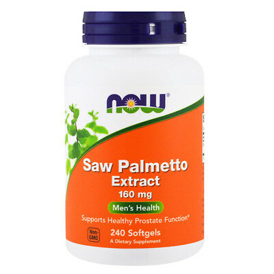 NOW FOODS Saw Palmetto Extract 160 mg,  240 softgels - estratto di Saw Palmetto