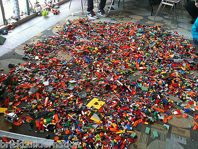 ☀️1 to 100 POUNDS LB of LEGO LEGOS PIECES FROM HUGE BULK LOT PARTS @ RANDOM