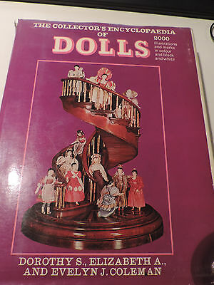 THE COLLECTOR'S ENCYCLOPEDIA OF DOLLS,Colemann,1977,Puppenliteratur