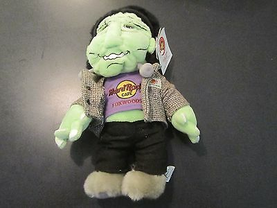 HARD ROCK CAFE 2004 Foxwoods FRANKENSTEIN Teddy Bear (#34 of 48) RARE new w/tag
