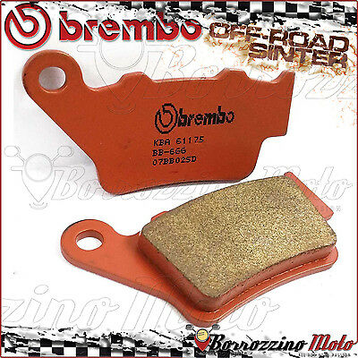Plaquettes Frein Arriere Brembo Fritte Off-Road Husqvarna Nuda-R 900 2012